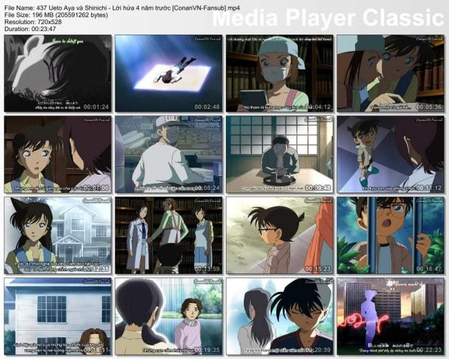 437 Ueto Aya và Shinichi - Lời hứa 4 năm trước [ConanVN-Fansub]