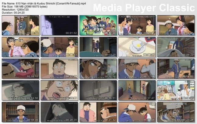 610 Nạn nhân là Kudou Shinichi [ConanVN-Fansub]