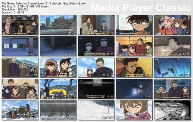 Detective Conan Movie 15 15 phút yên lặng [Kites.vn]