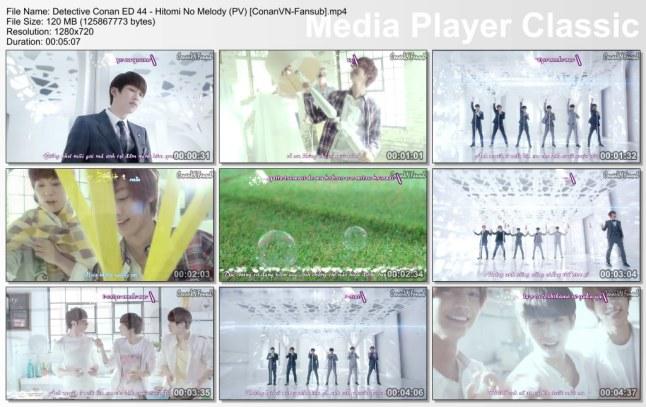 Detective Conan ED 44 - Hitomi No Melody (PV) [ConanVN-Fansub]