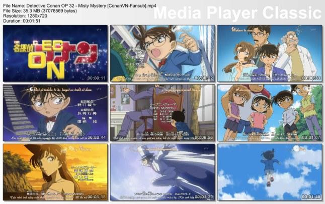 Detective Conan OP 32 - Misty Mystery [ConanVN-Fansub]