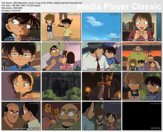 289 Mitsuhiko và khu rừng bí ẩn (Phần một)[ConanVN-Fansub]