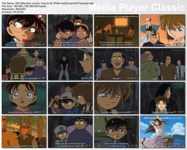 290 Mitsuhiko và khu rừng bí ẩn (Phần hai)[ConanVN-Fansub]