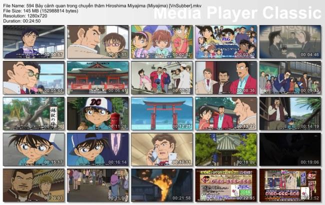 594 Bảy cảnh quan trong chuyến thăm Hiroshima Miyajima (Miyajima) [VnSubber]