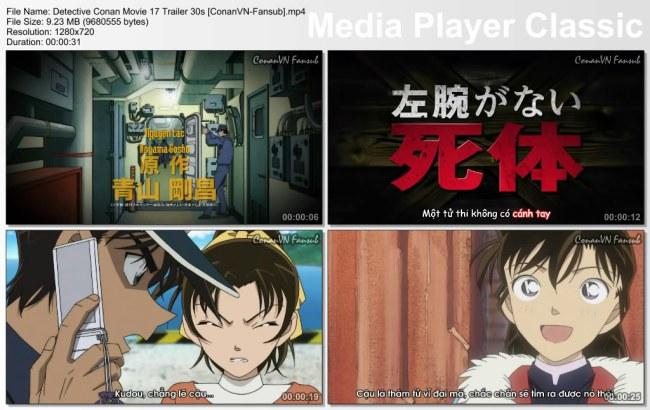 Detective Conan Movie 17 Trailer 30s [ConanVN-Fansub]