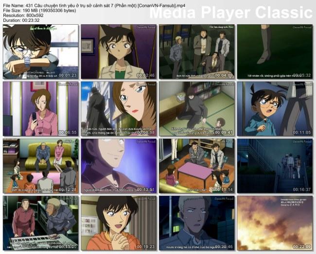 431 Câu chuyện tình yêu ở trụ sở cảnh sát 7 (Phần một) [ConanVN-Fansub]