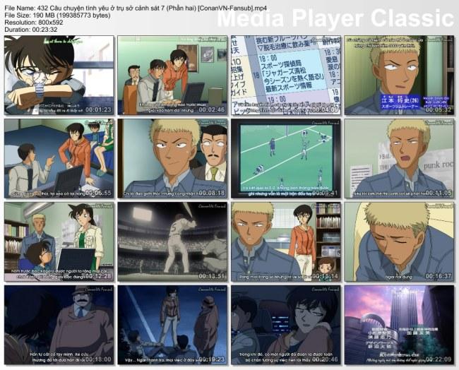 432 Câu chuyện tình yêu ở trụ sở cảnh sát 7 (Phần hai) [ConanVN-Fansub]
