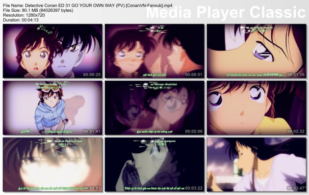 Detective Conan ED 31 GO YOUR OWN WAY (PV) [ConanVN-Fansub]