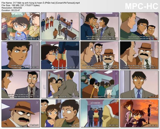 317 Mặt nạ anh hùng bị hoen ố (Phần hai) [ConanVN-Fansub]