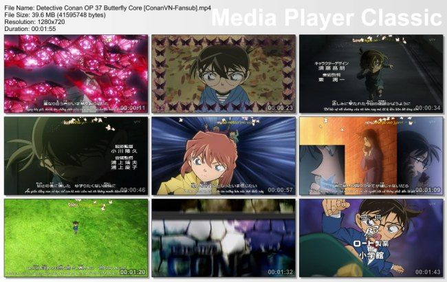 Detective Conan OP 37 Butterfly Core [ConanVN-Fansub]