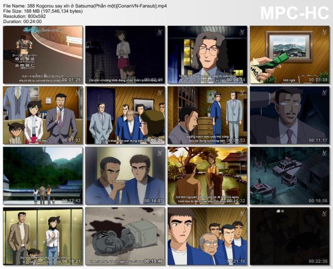 388 Kogorou say xỉn ở Satsuma(Phần một)[ConanVN-Fansub]