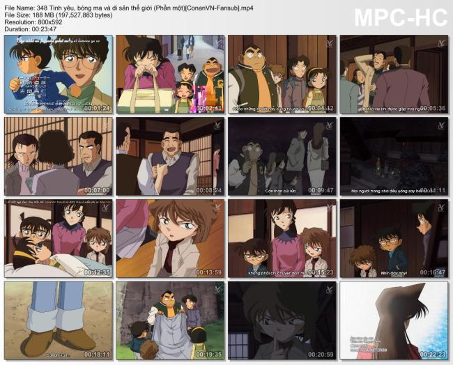 348 Tình yêu, bóng ma và di sản thế giới (Phần một)[ConanVN-Fansub]