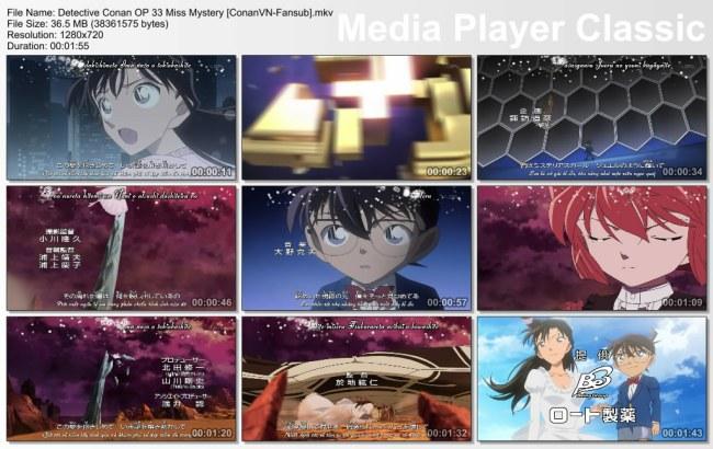 Detective Conan OP 33 Miss Mystery [ConanVN-Fansub]