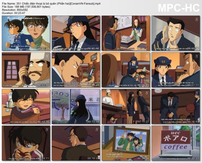 351 Chiếc điện thoại bị bỏ quên (Phần hai)[ConanVN-Fansub]