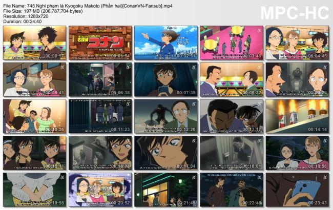 745 Nghi phạm là Kyogoku Makoto (Phần hai)[ConanVN-Fansub]