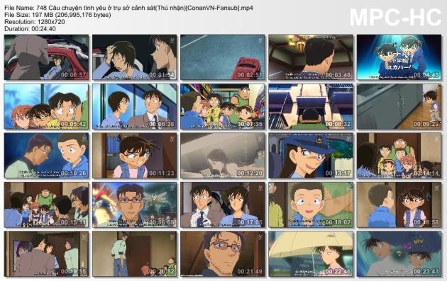 748 Câu chuyện tình yêu ở trụ sở cảnh sát(Thú nhận)[ConanVN-Fansub]