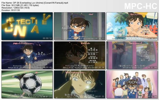 Detective Conan OP 26 (Anime) [ConanVN-Fansub]