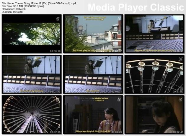 Theme Song Movie 12 (PV) [ConanVN-Fansub]