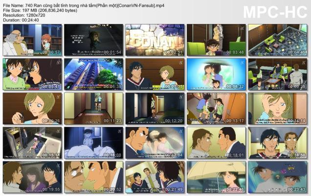 740 Ran cũng bất tỉnh trong nhà tắm(Phần một)[ConanVN-Fansub]