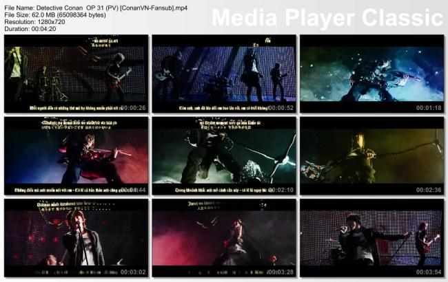 Detective Conan  OP 31 (PV) [ConanVN-Fansub]