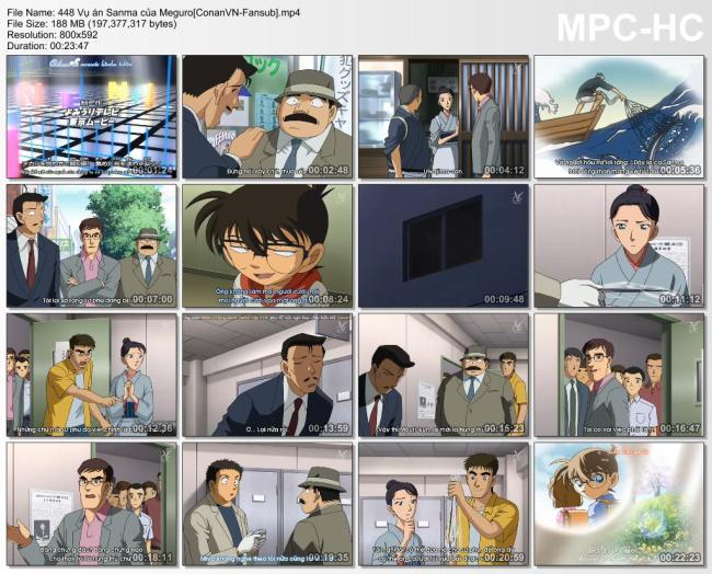448 Vụ án Sanma của Meguro[ConanVN-Fansub]