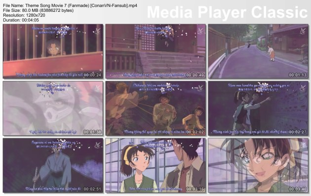Theme Song Movie 7 (Fanmade) [ConanVN-Fansub]