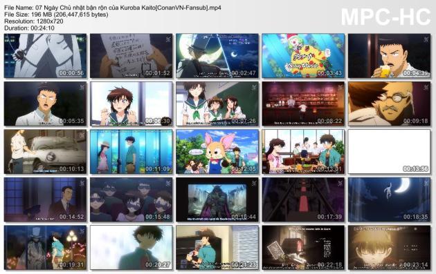 07 Ngày Chủ nhật bận rộn của Kuroba Kaito[ConanVN-Fansub]