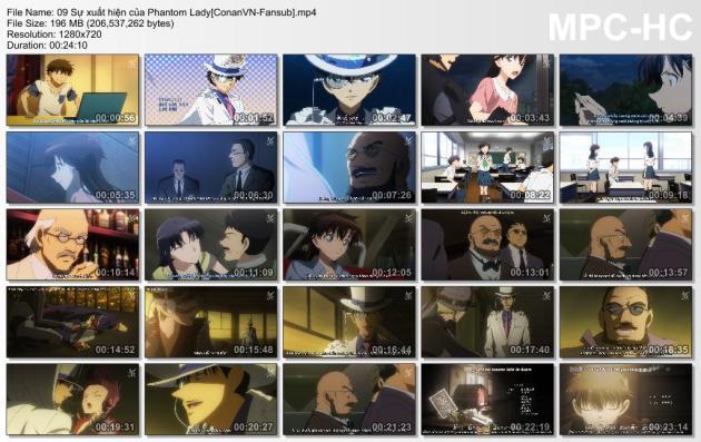 09 Sự xuất hiện của Phantom Lady[ConanVN-Fansub]