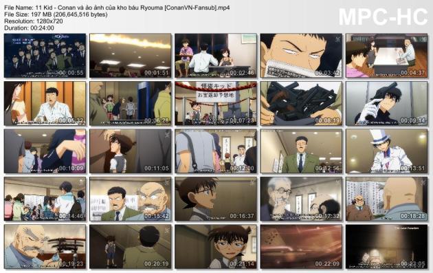 11 Kid - Conan và ảo ảnh của kho báu Ryouma [ConanVN-Fansub]