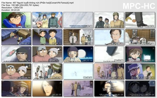467 Người tuyết không nứt (Phần hai)[ConanVN-Fansub]