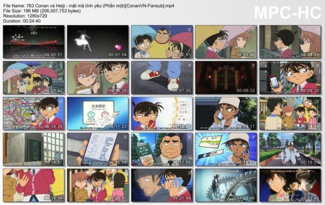 763 Conan và Heiji - mật mã tình yêu (Phần một)[ConanVN-Fansub]