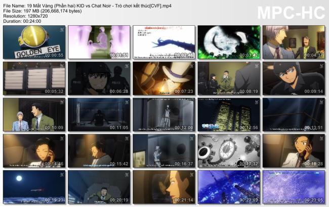 19 Mắt Vàng (Phần hai) KID vs Chat Noir - Trò chơi kết thúc[CVF]