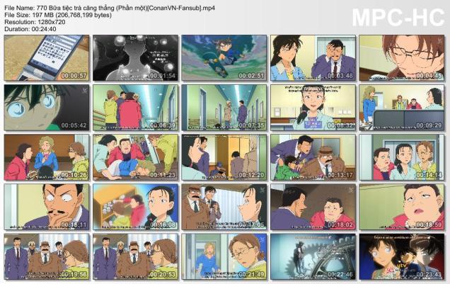 770 Bữa tiệc trà căng thẳng (Phần một)[ConanVN-Fansub]