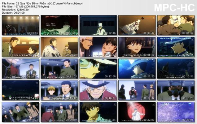 23 Quạ Nửa Đêm (Phần một) [ConanVN-Fansub]