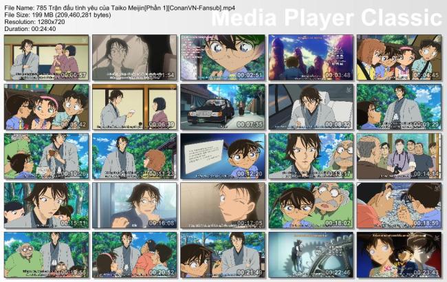 785 Trận đấu tình yêu của Taiko Meijin[Phần 1][ConanVN-Fansub]
