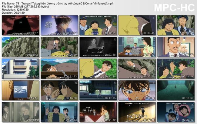 791 Trung sĩ Takagi trên đường trốn chạy với còng số 8[ConanVN-fansub]