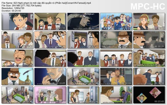 823 Nghi phạm là một cặp đôi quyến rũ (Phần hai)[ConanVN-Fansub]